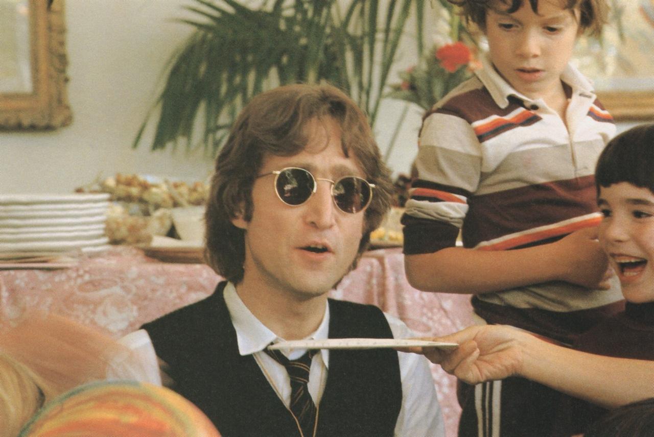 John Was Thirty Eight And Sean Three Lennon Family Album1 Album2