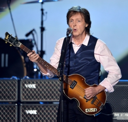 McCartney Performs Live