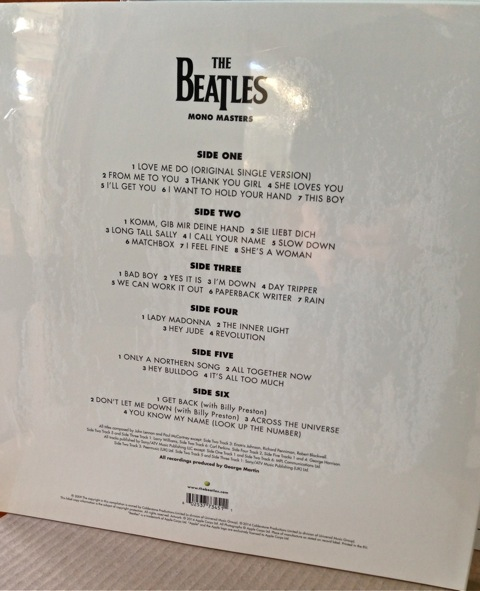 Beatles Mono Box27