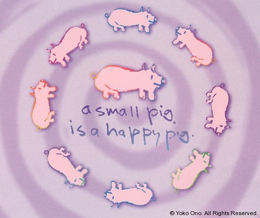 Lennon-A Small Pig