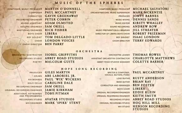 McCartney Destiny-Hope credits