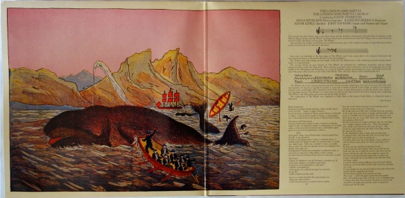 The Whale gatefold