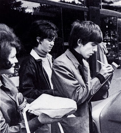 George Beatles with Records