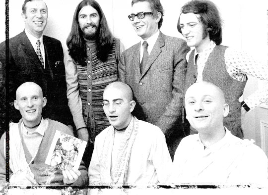 George with Hare Krsna