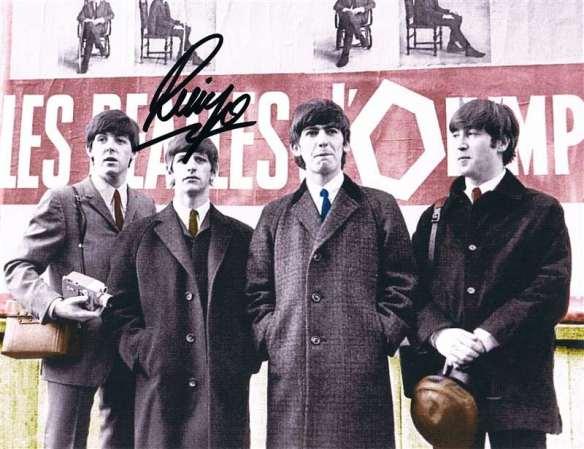 Ringo Autograph