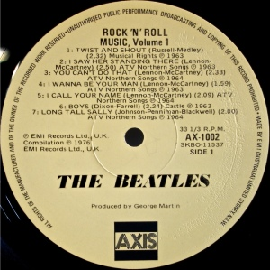 Rock'n'Roll Axis Label