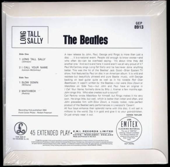 LTS Beatles RSD rear