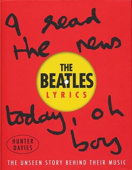 Beatles Lyrics cover