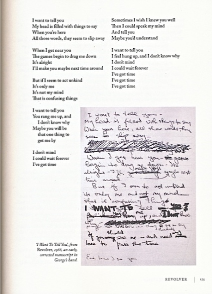 Beatles Lyrics page1