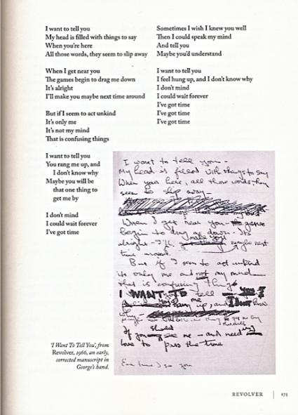 Beatles Lyrics page1