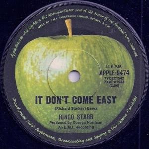 Ringo It Don't Come Easy