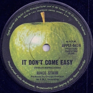 Ringo It Don't Come Easy