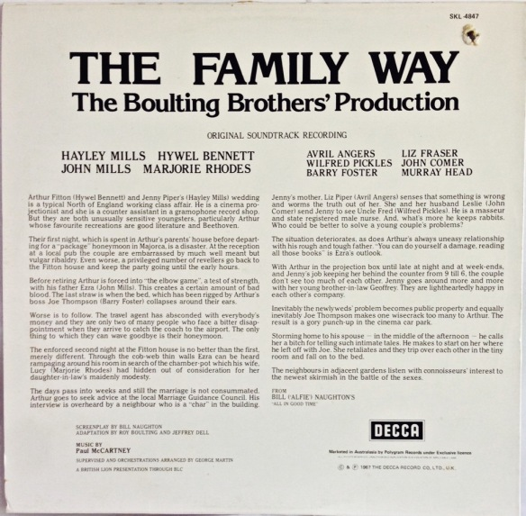 Family Way Cover 4