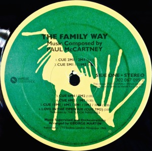 Family Way Label 1