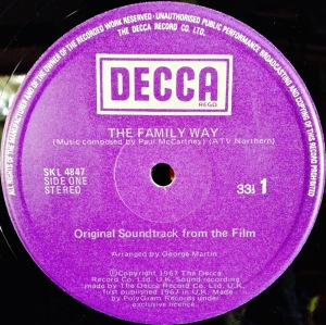 Family Way Label 3