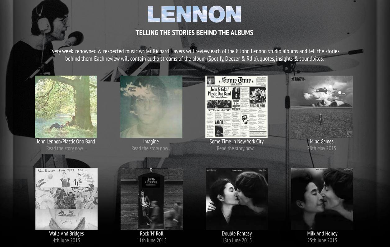 New John Lennon Lp Box Set Pressed By Optimal Media