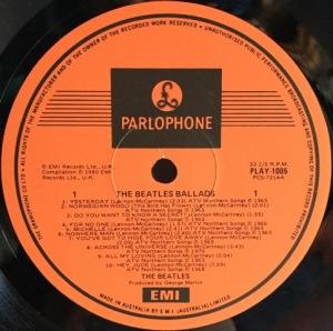 Ballads Label2