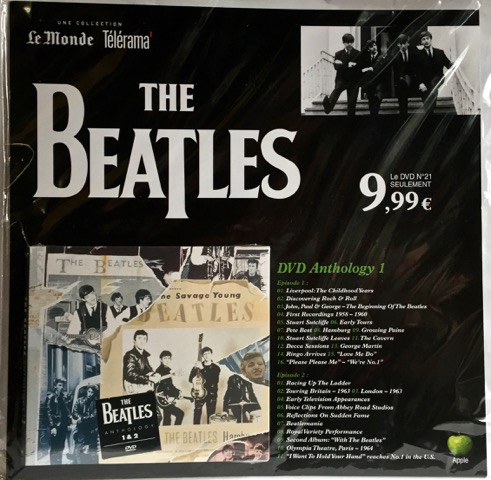 Beatles Anth 1 DVD France