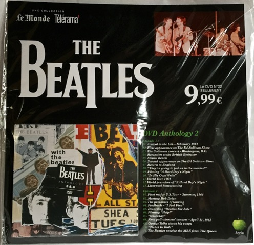 Beatles Anth 2 DVD France