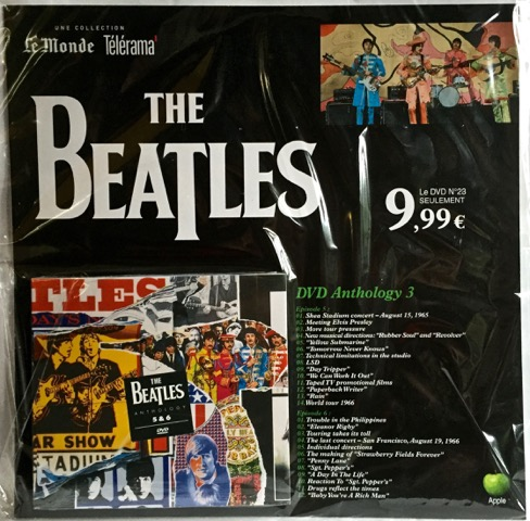 Beatles Anth 3 DVD France
