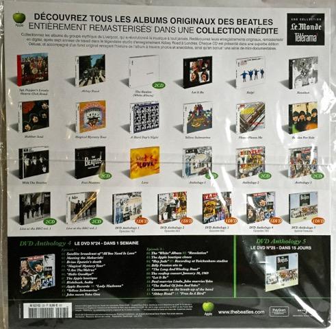 Beatles Anth 3 Rear France