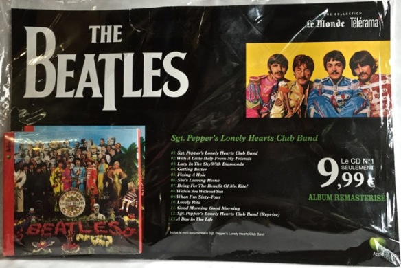 Beatles Pepper front France