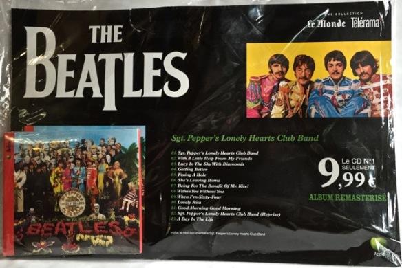 Beatles Pepper front France
