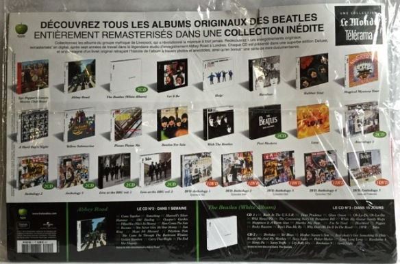 Beatles Pepper rear France