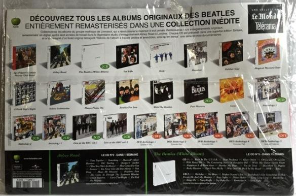 Beatles Pepper rear France