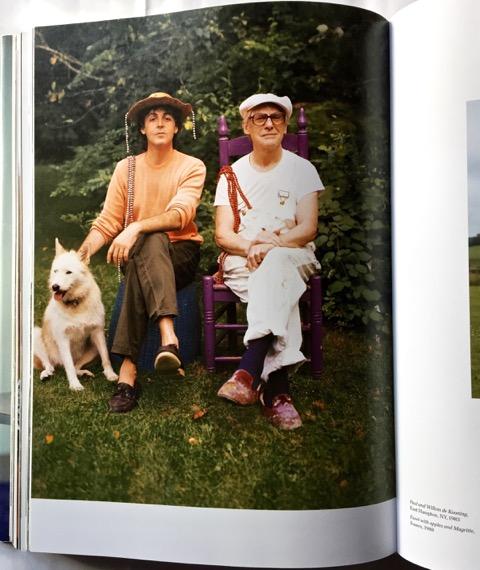 Linda McCartney Photograhs Paul and Willem