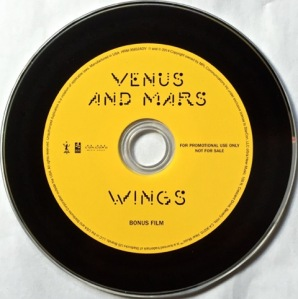 Venus & Mars Advance DVD
