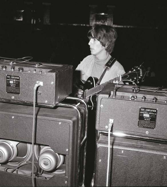 George and his Vox Amps