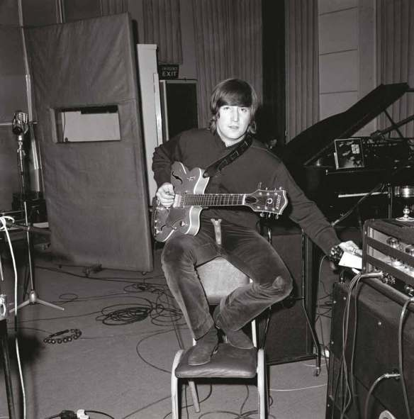 John and his Gretch Guitar