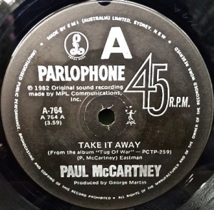 Take It Away Parlophone