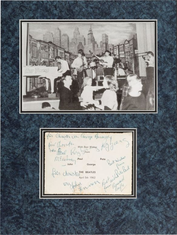Beatle Fancard Photo 2