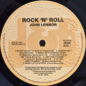 John Lennon Rip It Up 15 Rock N Roll Greats Beatles Blog