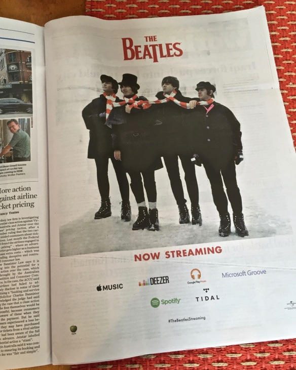 Beatles streaming