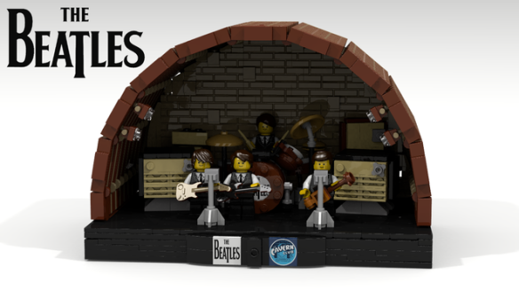 Beatles Lego Cavern