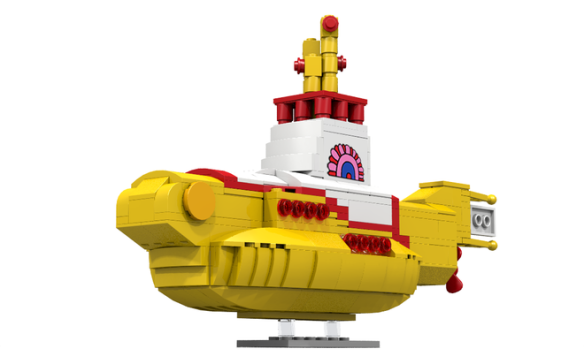 Yellow Sub LEGO 1