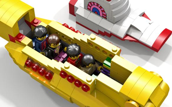 Yellow Sub LEGO 2
