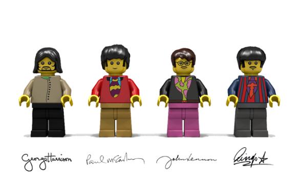 Yellow Sub LEGO 3