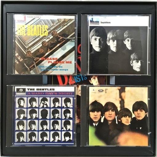 Beatles on CD discs