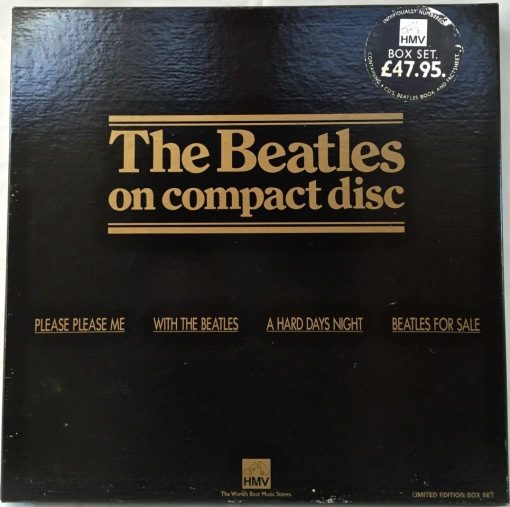Beatles on CD front