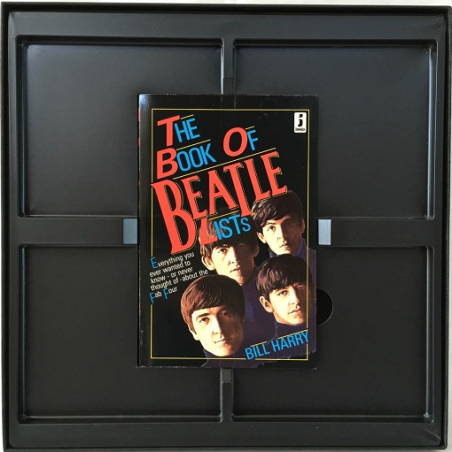 Beatles on CD holder