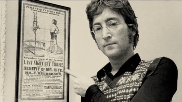 lennon-with-kite-poster