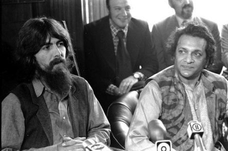 george-and-ravi-at-concert-for-bangladesh-press-conference