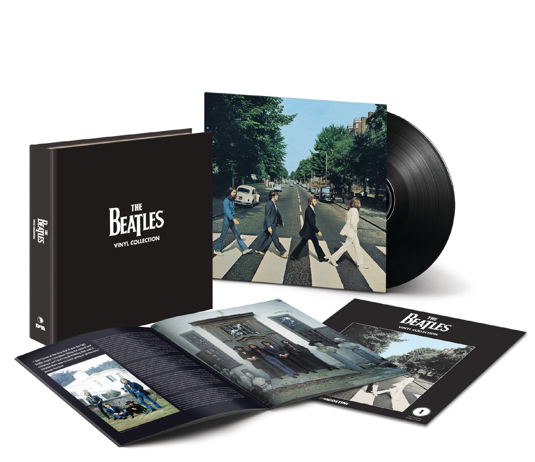 Beatle Vinyl Via Mail Order And In Newsagents In Italy