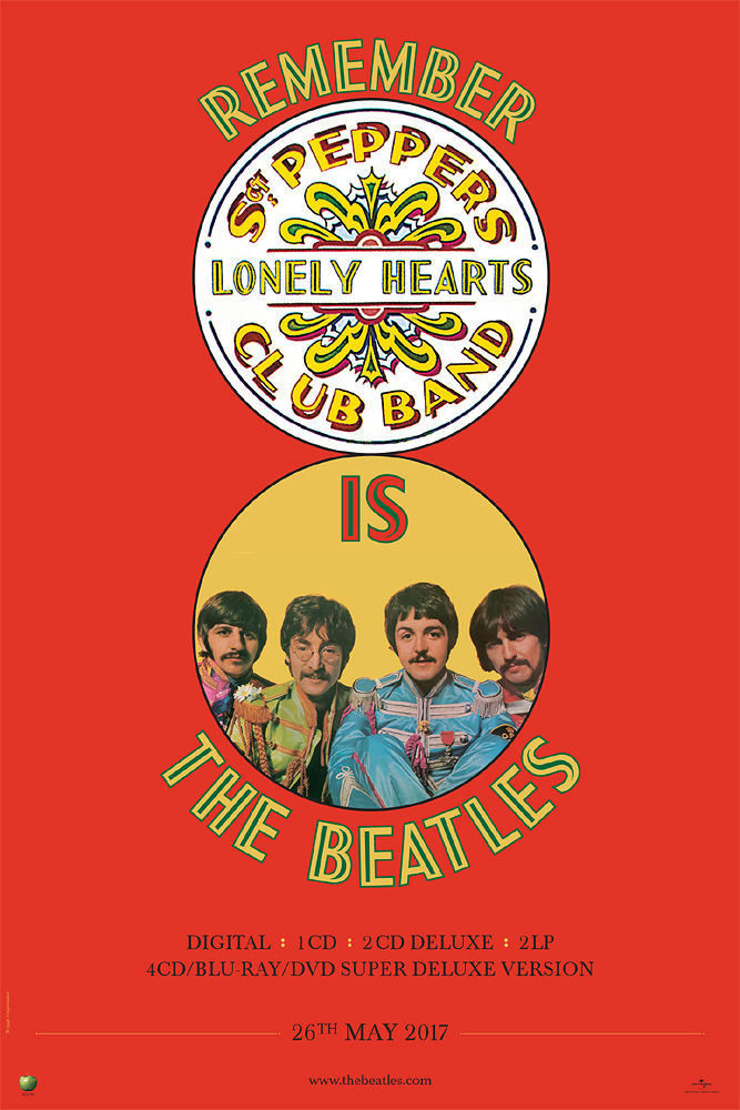 the beatles sgt pepper In crafting sgt pepper's, producer george martin, engineer geoff emerick and the fab four pushed the recording-studio technology of the late '60s to its limits.