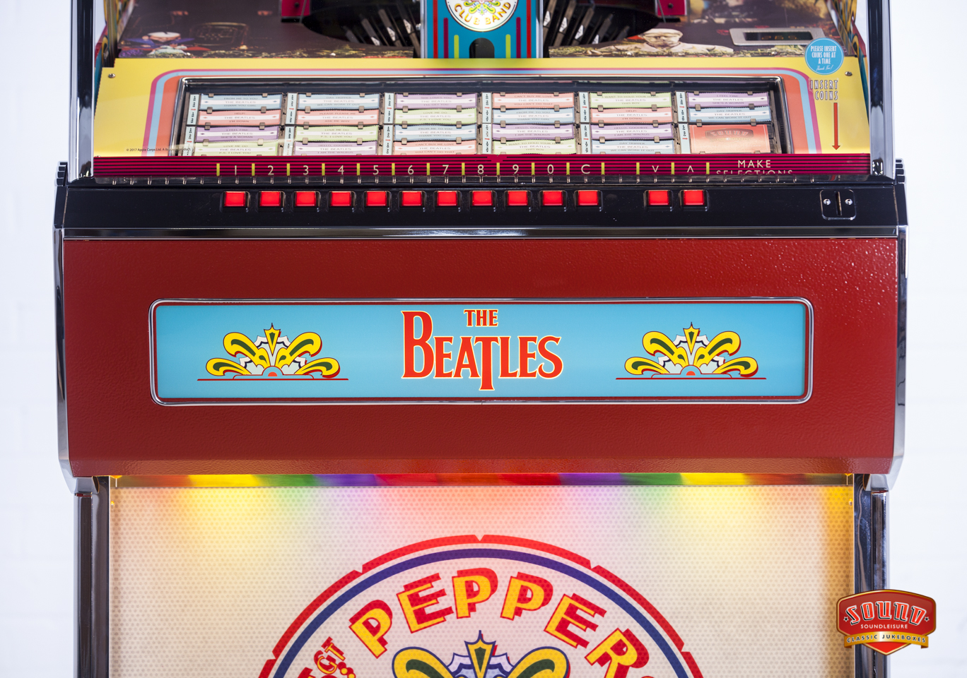 The Sgt Pepper Jukebox Beatles Blog