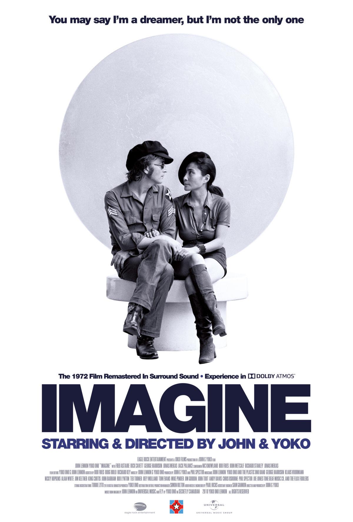 John Lennon Imagine Film Audio And Dvd Bluray On The Way Beatles Blog